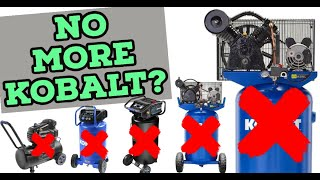 Is this the END for Kobalt Air Compressors?