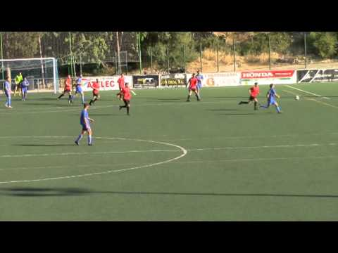 Gol Pedro Vargas. CE Xilvar 2 - UD Arenal 2. Primera regional 14/15