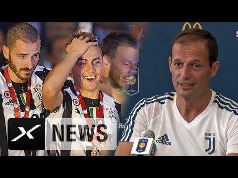 Massimiliano Allegri über Leonardo-Bonucci-Abgang und Paulo-Dybala-Gerücht | Juventus | Serie A