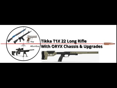 Tikka T1x upgrade with ORYX Chassis