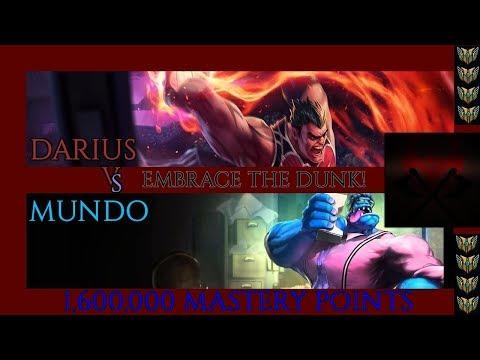 Darius vs Mundo [7.19][RANKED]  - GET DUNKED! - [ROAD TO DIAMOND] -- 1,600,000 MASTERY POINTS --