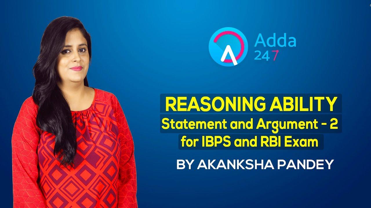 Argument statement