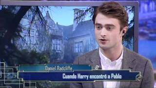 Daniel Radcliffe en El Hormiguero Part 1/4