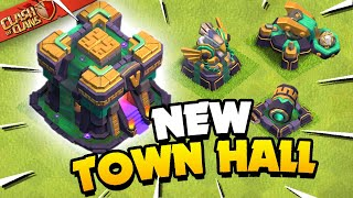 Town Hall 14 Revealed! Clash of Clans Update Sneak Peek 1!