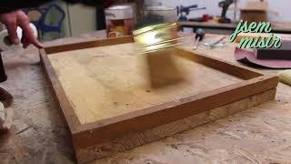 Jak připravit dřevo před natíráním