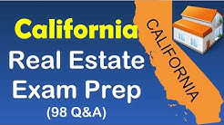 California real estate exam prep with 98 Questions and Asnwers