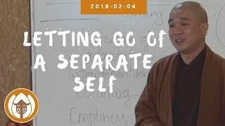 Letting Go of a Separate Self | Dharma Talk by Br Pháp Ứng, 2018.02.04