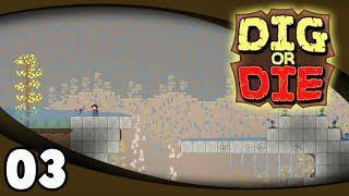 Let's Play Dig or Die - Ep. 3: Bridge Building | Dig or Die Gameplay/Walkthrough