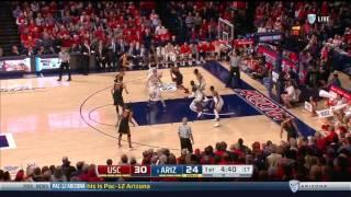 Men's Basketball: USC 77, Arizona 90 - Highlights 2/23/17