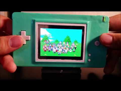 Gaming Mods - Nintendo Ds Lite to Gameboy Advance Mod