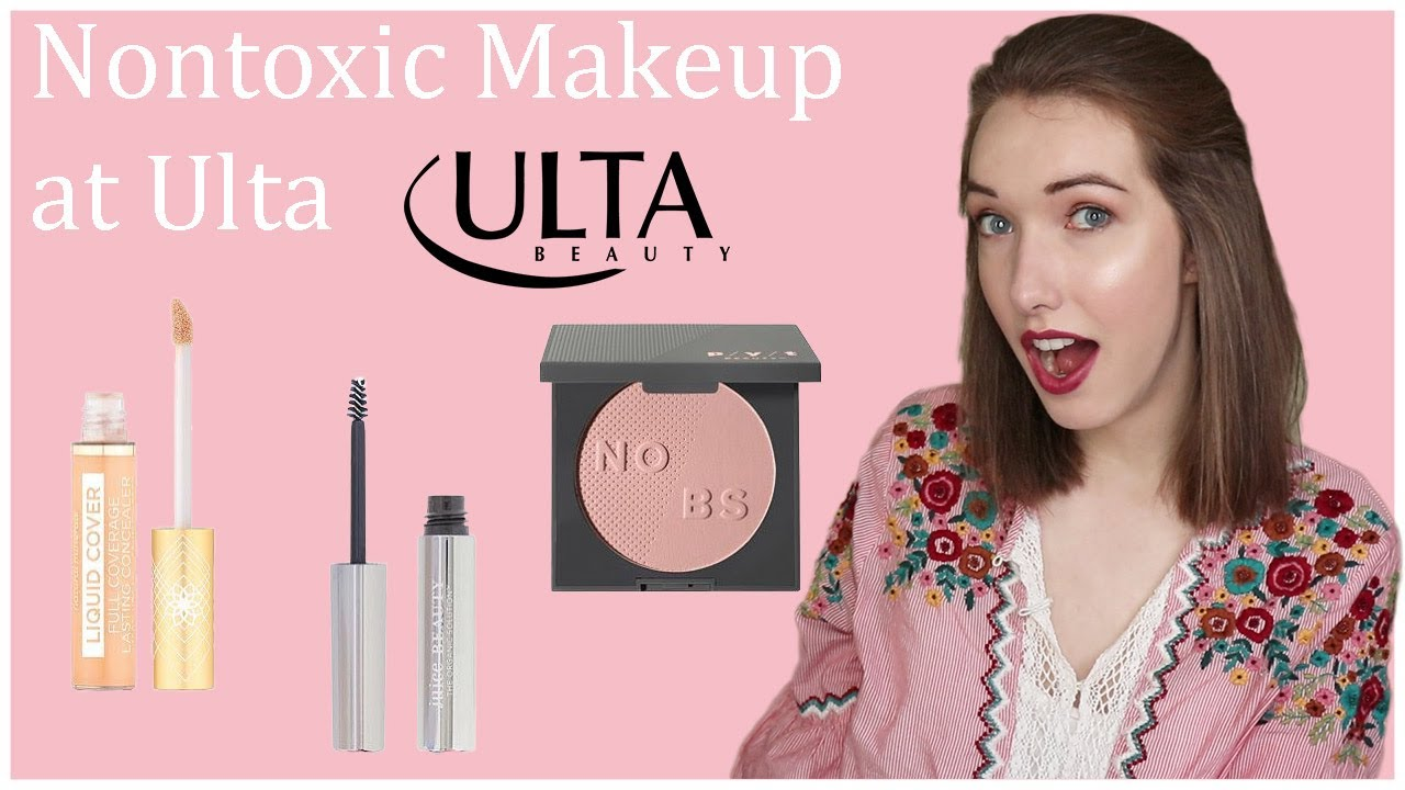 Full Face of Nontoxic Makeup from Ulta