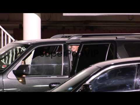 Robert De Niro and Grace Hightower depart the 16th Annual...