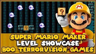 Boo Terrorvision Games Level Showcase | Super Mario Maker