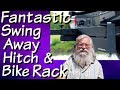 Fantastic Swing Away Hitch and Bike Rack for Electric Bikes or Fat Tire Mountain Bikes