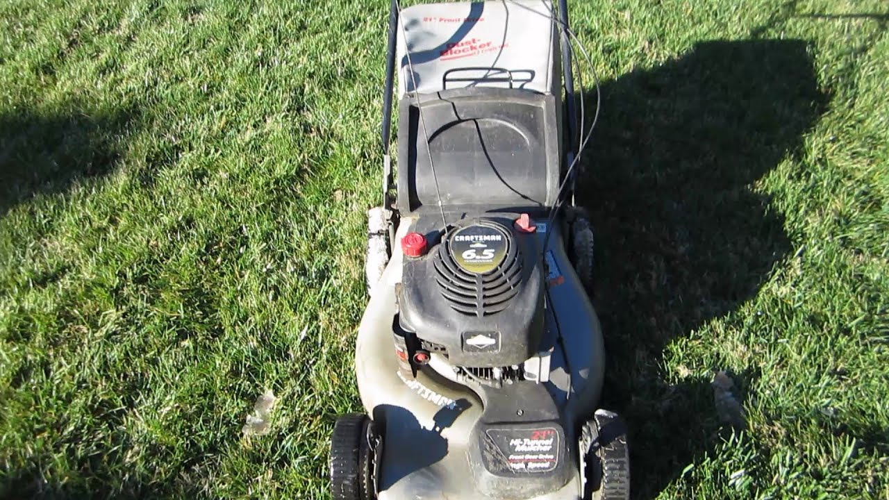 Sears Craftsman Model 917 Mower : Sears craftsman quot lawn mower mystery trade