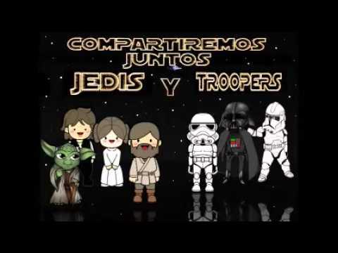Tarjetas de feliz cumpleanos star wars