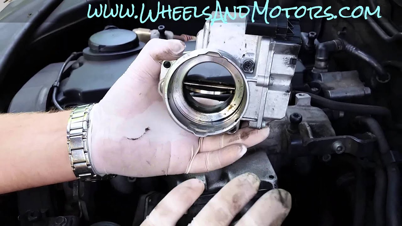 How To Replace Intake Manifold Flap Motor Aka Throttle Body Valve Audi A6 3 0 Tdi Fuse Box On 20 Engine Youtube