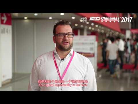 CHINAPLAS DISCOVERY - Mr  Christian Mayr from ALPLA Werke Alwin Lehner GmbH & Co KG Austria