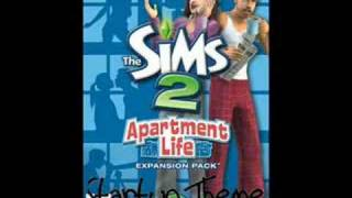 The Sims 2 Apartment Life Startup Theme / Sim Will Build
