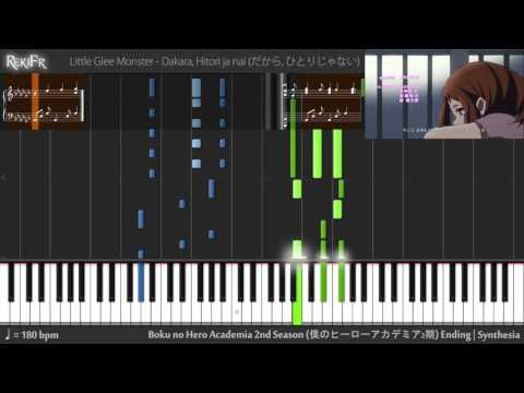 Boku no Hero Academia 2nd Season Ending 1 - Dakara, Hitori ja nai (Synthesia)