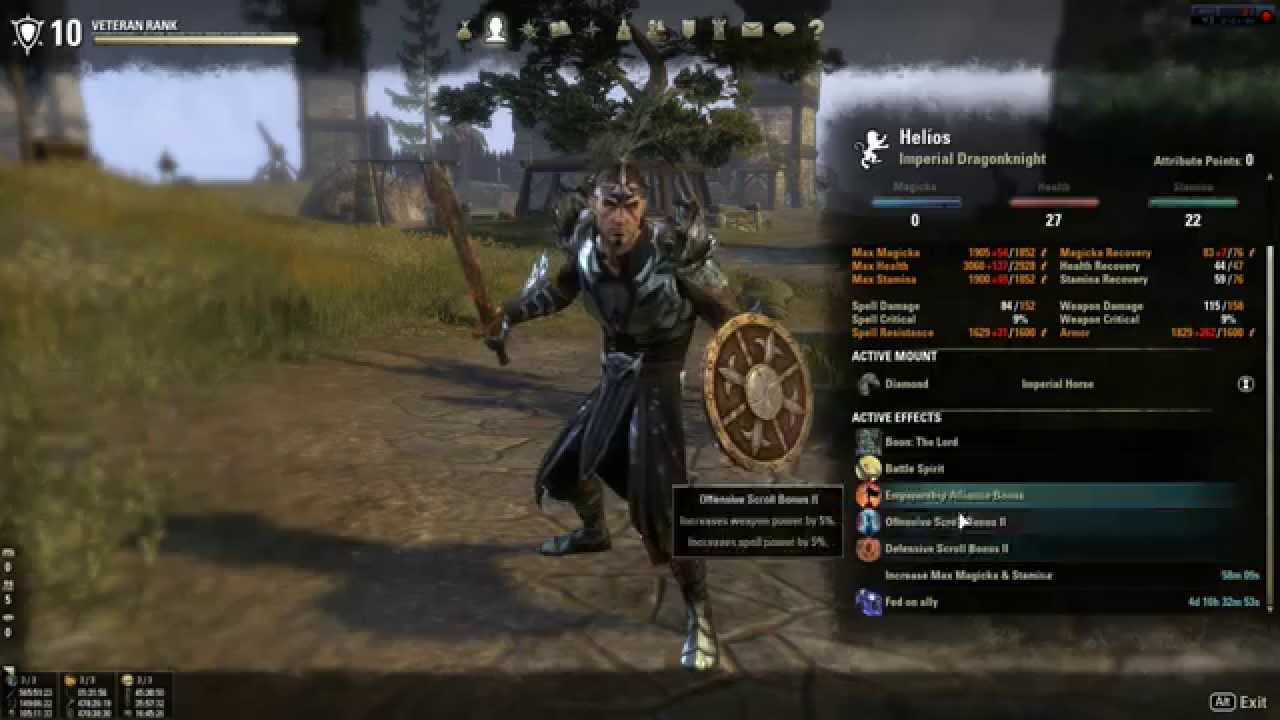 Dragonknight Build Eso