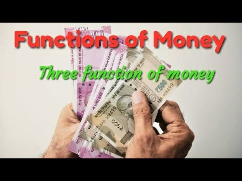 Function of money