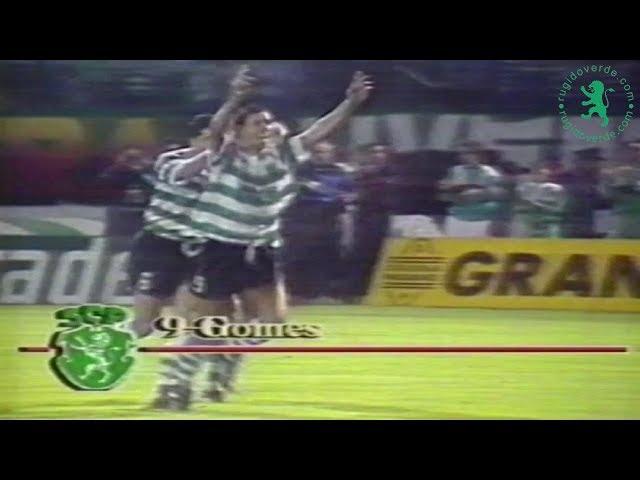 Fernando Gomes - Sporting CP | Últimos 40 golos da carreira