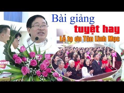 💢 Bài Giảng Tuyệt Hay Trong Thánh Lễ Mừng Tân Chức Linh Mục Phêrô Phạm Văn Nhật - Giáo Họ Quảng Châu