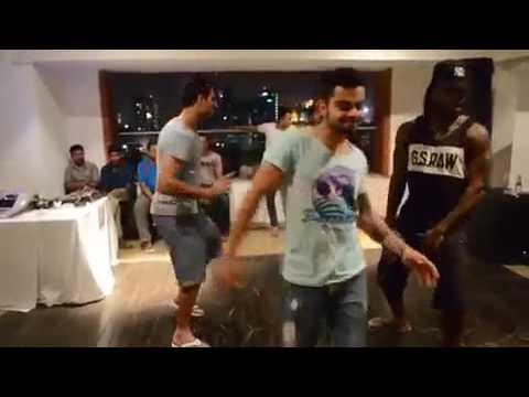 Virat Kohli Dancing On Bhojpuri Song