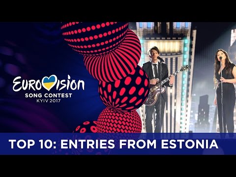 TOP 10: Entries from Estonia