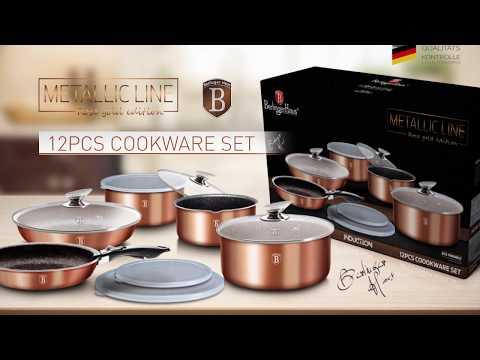 Berlinger Haus Metallic Line Rose Gold Edition Click It Presentation [BH-1591]