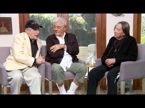 MEL BROOKS, RICHARD DONNER and PAUL MAZURSKY discuss show business