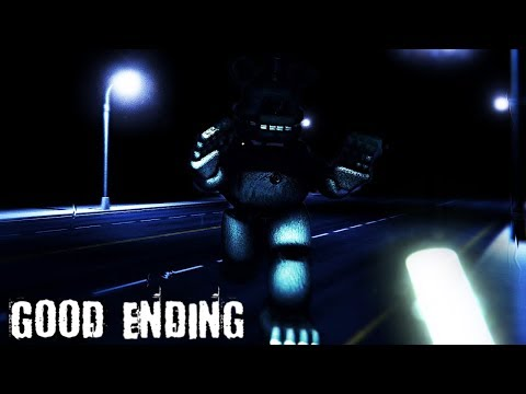 I GOT THE GOOD ENDING! THE TRUTH ABOUT THE ANIMATRONICS REVEALED... || FNAF The Fredbear Archives