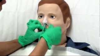 Posizionamento sondino naso gastrico - SNG