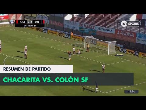Resumen de Chacarita vs Colón SF (0-2)   Fecha 23 - Superliga Argentina 2017/2018