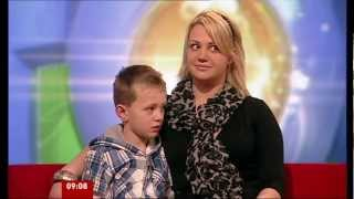 SIAN WILLIAMS: BBC_BREAKFAST:  ~ CHARLIE  & The DYSPRAXIA EXPERTS