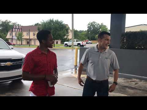 Walter Carr gets a new car