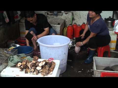 Amazing food market in Foshan,China