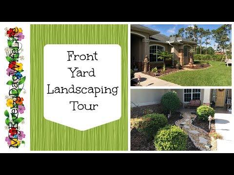 Front Yard Landscape Tour