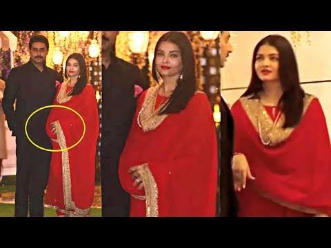 Aishwarya Rai Hiding Her Pregnancy At Mukesh Ambani Niece Pre Wedding