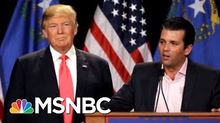 Donald Trump Putting More Focus On The Tower Meeting With Russians | Velshi & Ruhle | MSNBC