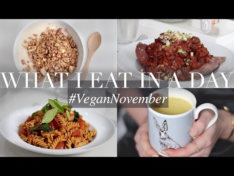 What I Eat in a Day #VeganNovember 11 (Vegan/Plant-based) | JessBeautician