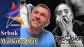 Srbuk - Walking Out | Armenia Eurovision 2019 REACTION