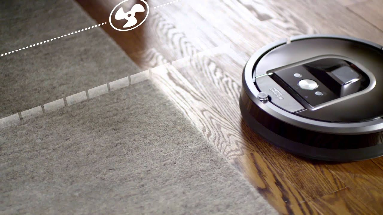 Irobot Roomba 980 Vacuum Cleaning Robot Youtube