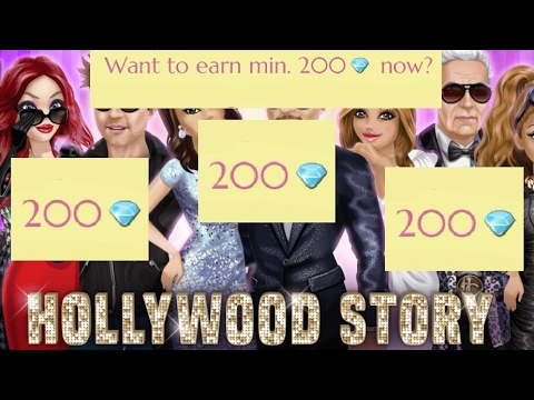 HOLLYWOOD STORY GAME CHEAT/HACK/TRICK | % SAFE | % WORKING | GET FREE DIAMONDS (Android)