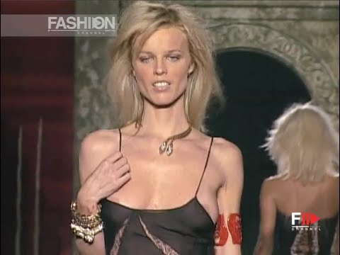 ROBERTO CAVALLI Full Show Spring Summer 2003 Milan by Fashion Channel