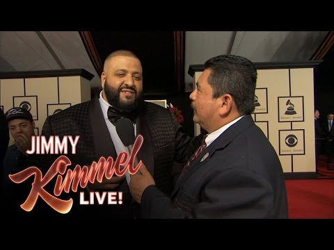 Guillermo at the 58th Annual Grammy Awards