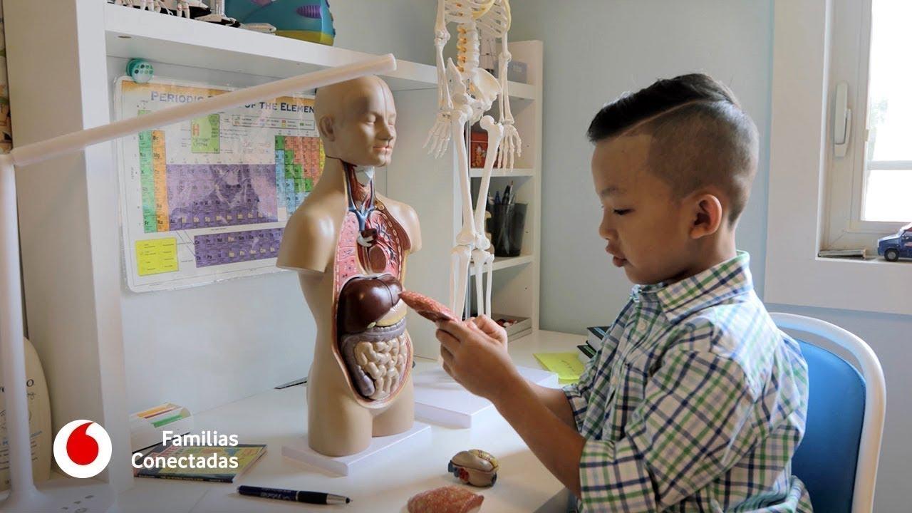 V.O.S. Anson Wong, el niño de seis años que quiere curar el cáncer #FamiliasConectadas
