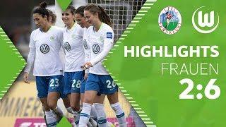 Neue Siegesserie beginnt! | 1. FFC Frankfurt - VfL Wolfsburg Frauen 2:6 | Highlights