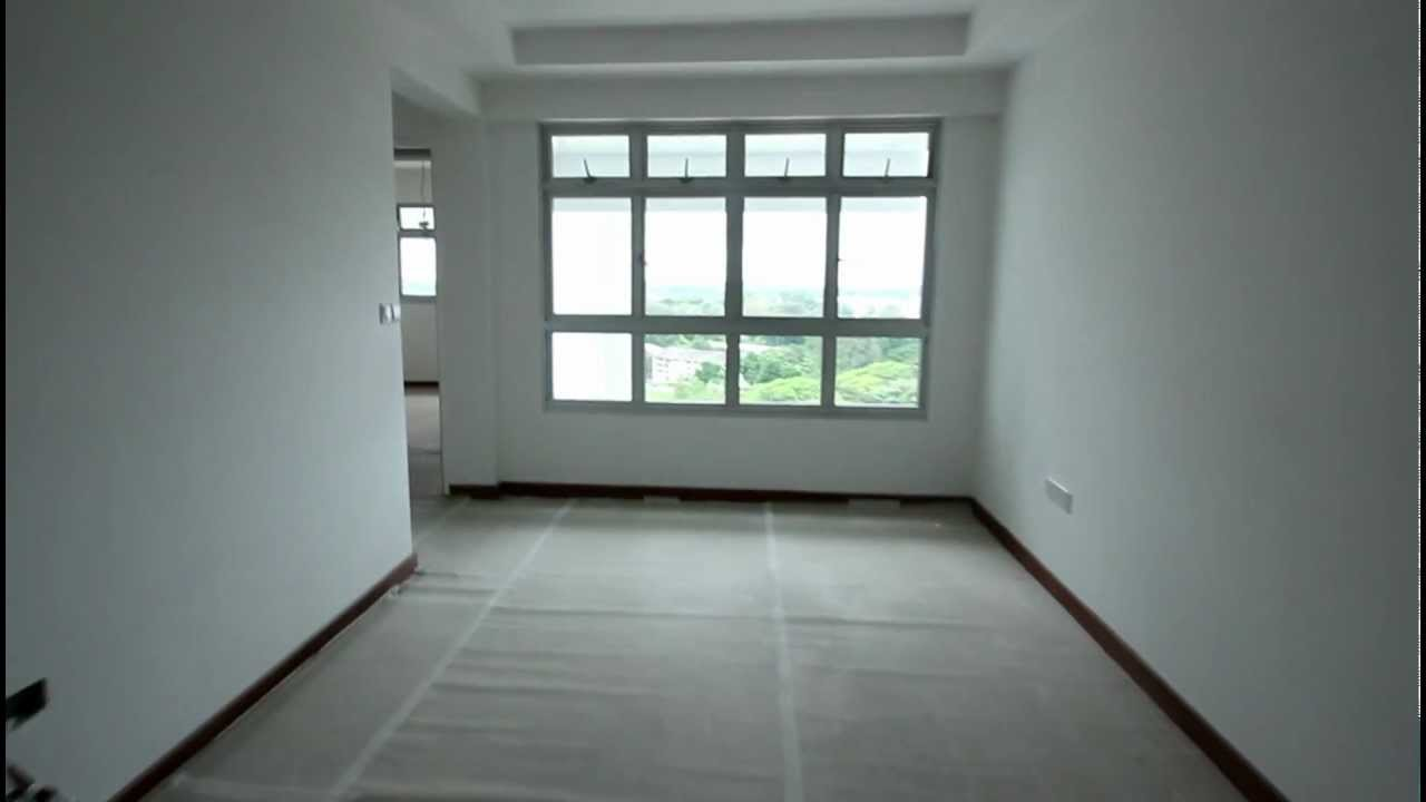 BTO 3 Room HDB Renovation By Interior Designer Ben Ng   Pre Renovation    YouTube Part 93